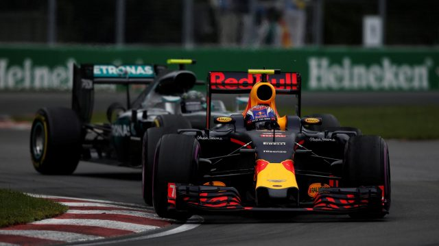 Max Verstappen (NED) Red Bull Racing RB12 at Formula One World Championship, Rd7, Canadian Grand Prix, Race, Montreal, Canada, Sunday 12 June 2016. &copy&#x3b; Manolo Media Sutton Images