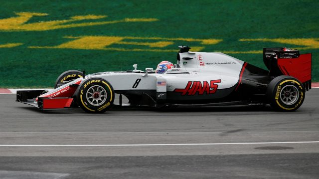 Romain Grosjean (FRA) Haas VF-16 at Formula One World Championship, Rd7, Canadian Grand Prix, Race, Montreal, Canada, Sunday 12 June 2016. &copy&#x3b; Sutton Images