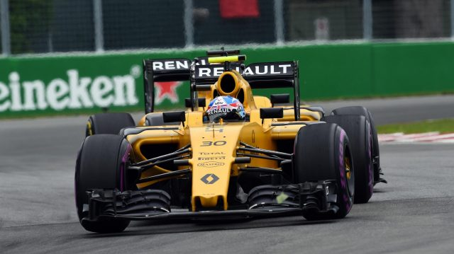 Jolyon Palmer (GBR) Renault Sport F1 Team RS16 at Formula One World Championship, Rd7, Canadian Grand Prix, Race, Montreal, Canada, Sunday 12 June 2016. &copy&#x3b; Sutton Images