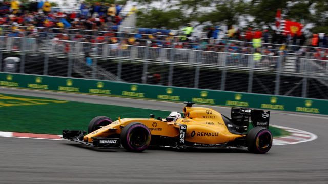 Kevin Magnussen (DEN) Renault Sport F1 Team RS16 at Formula One World Championship, Rd7, Canadian Grand Prix, Race, Montreal, Canada, Sunday 12 June 2016. &copy&#x3b; Sutton Images
