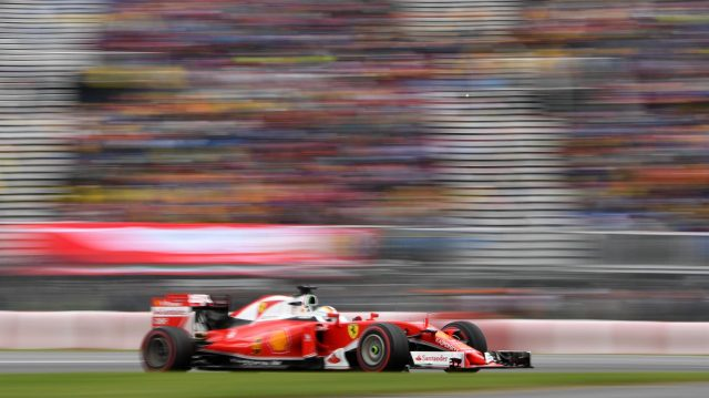 Sebastian Vettel (GER) Ferrari SF16-H at Formula One World Championship, Rd7, Canadian Grand Prix, Race, Montreal, Canada, Sunday 12 June 2016. &copy&#x3b; Sutton Images