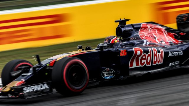 Daniil Kvyat (RUS) Scuderia Toro Rosso STR11 at Formula One World Championship, Rd12, German Grand Prix, Practice, Hockenheim, Germany, Friday 29 July 2016. &copy&#x3b; Sutton Images