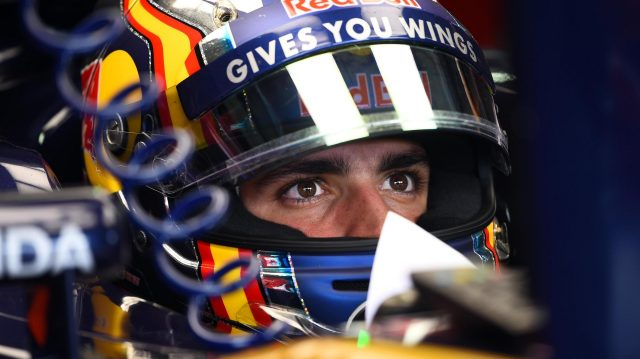 Carlos Sainz jr (ESP) Scuderia Toro Rosso at Formula One World Championship, Rd12, German Grand Prix, Practice, Hockenheim, Germany, Friday 29 July 2016. &copy&#x3b; Sutton Images