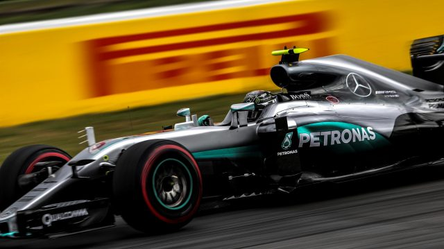 Nico Rosberg (GER) Mercedes-Benz F1 W07 Hybrid at Formula One World Championship, Rd12, German Grand Prix, Practice, Hockenheim, Germany, Friday 29 July 2016. &copy&#x3b; Sutton Images