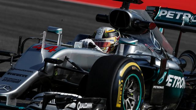Lewis Hamilton (GBR) Mercedes-Benz F1 W07 Hybrid at Formula One World Championship, Rd12, German Grand Prix, Practice, Hockenheim, Germany, Friday 29 July 2016. &copy&#x3b; Sutton Images