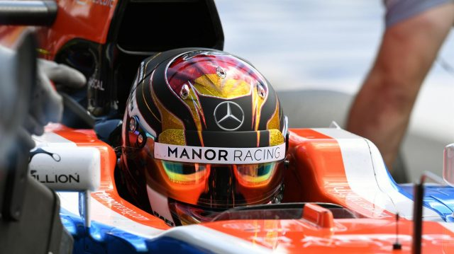Pascal Wehrlein (GER) Manor Racing MRT05 at Formula One World Championship, Rd12, German Grand Prix, Practice, Hockenheim, Germany, Friday 29 July 2016. &copy&#x3b; Sutton Images