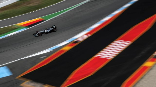 Nico Hulkenberg (GER) Force India VJM09 at Formula One World Championship, Rd12, German Grand Prix, Practice, Hockenheim, Germany, Friday 29 July 2016. &copy&#x3b; Sutton Images