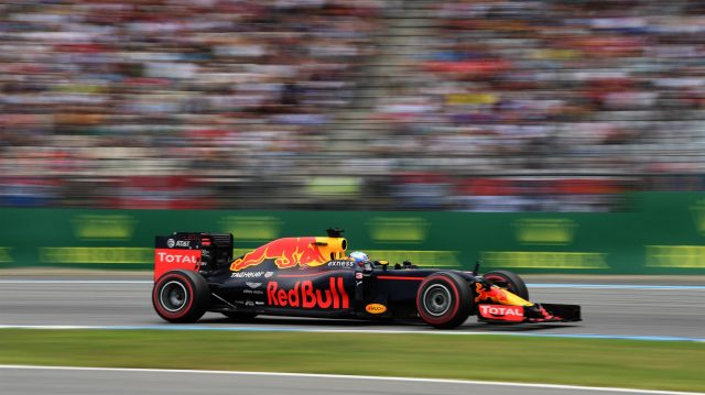 Daniel Ricciardo (AUS) Red Bull Racing RB12 at Formula One World Championship, Rd12, German Grand Prix, Practice, Hockenheim, Germany, Friday 29 July 2016. &copy&#x3b; Sutton Images