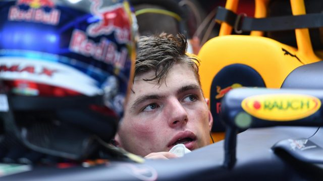Max Verstappen (NED) Red Bull Racing RB12 at Formula One World Championship, Rd12, German Grand Prix, Practice, Hockenheim, Germany, Friday 29 July 2016. &copy&#x3b; Sutton Images