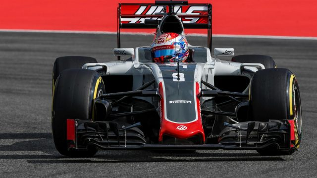 Romain Grosjean (FRA) Haas VF-16 at Formula One World Championship, Rd12, German Grand Prix, Practice, Hockenheim, Germany, Friday 29 July 2016. &copy&#x3b; Sutton Images