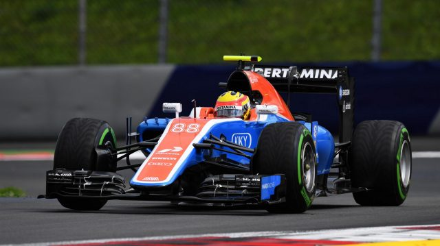 Rio Haryanto (IDN) Manor Racing MRT05 at Formula One World Championship, Rd9, Austrian Grand Prix, Practice, Spielberg, Austria, Friday 1 July 2016. &copy&#x3b; Sutton Images