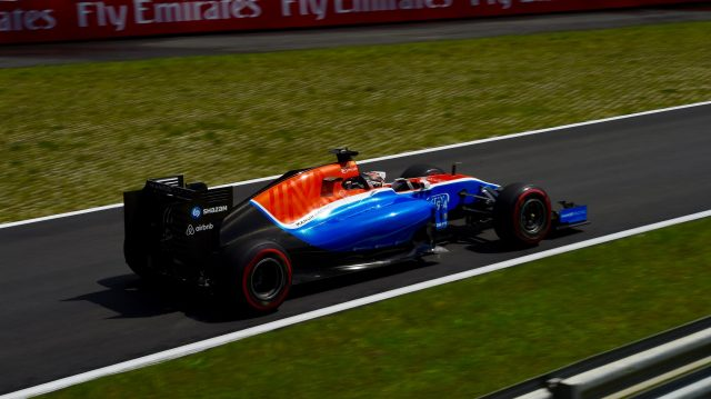 Pascal Wehrlein (GER) Manor Racing MRT05 at Formula One World Championship, Rd9, Austrian Grand Prix, Practice, Spielberg, Austria, Friday 1 July 2016. &copy&#x3b; Sutton Images