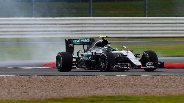 Nico Rosberg (GER) Mercedes-Benz F1 W07 Hybrid at Formula One World Championship, Rd10, British Grand Prix, Practice, Silverstone, England, Friday 8 July 2016. &copy&#x3b; Sutton Images