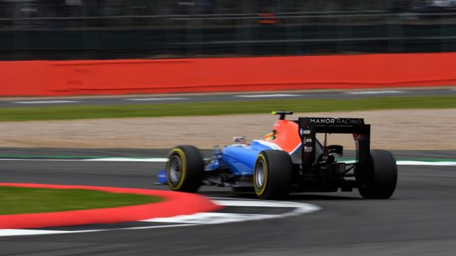 Rio Haryanto (IDN) Manor Racing MRT05 at Formula One World Championship, Rd10, British Grand Prix, Qualifying, Silverstone, England, Saturday 9 July 2016. &copy&#x3b; Sutton Images