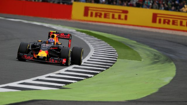 Max Verstappen (NED) Red Bull Racing RB12 at Formula One World Championship, Rd10, British Grand Prix, Qualifying, Silverstone, England, Saturday 9 July 2016. &copy&#x3b; Sutton Images