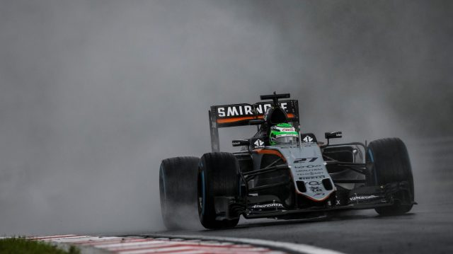 Nico Hulkenberg (GER) Force India VJM09 at Formula One World Championship, Rd11, Hungarian Grand Prix, Qualifying, Hungaroring, Hungary, Saturday 23 July 2016. &copy&#x3b; Sutton Images