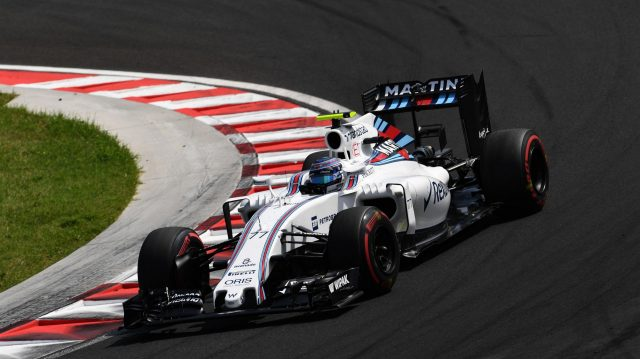Valtteri Bottas (FIN) Williams FW38 at Formula One World Championship, Rd11, Hungarian Grand Prix, Qualifying, Hungaroring, Hungary, Saturday 23 July 2016. &copy&#x3b; Sutton Images