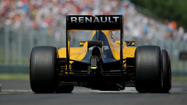 Kevin Magnussen (DEN) Renault Sport F1 Team RS16 at Formula One World Championship, Rd11, Hungarian Grand Prix, Qualifying, Hungaroring, Hungary, Saturday 23 July 2016. &copy&#x3b; Sutton Images