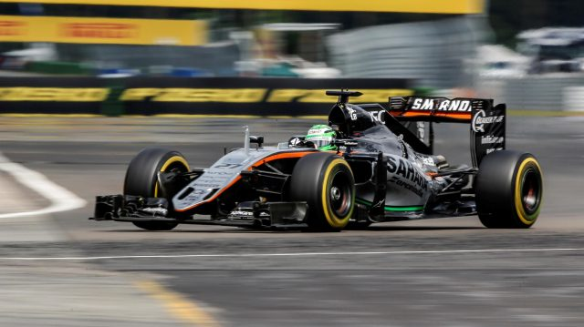 Nico Hulkenberg (GER) Force India VJM09 at Formula One World Championship, Rd12, German Grand Prix, Race, Hockenheim, Germany, Sunday 31 July 2016. &copy&#x3b; Sutton Images