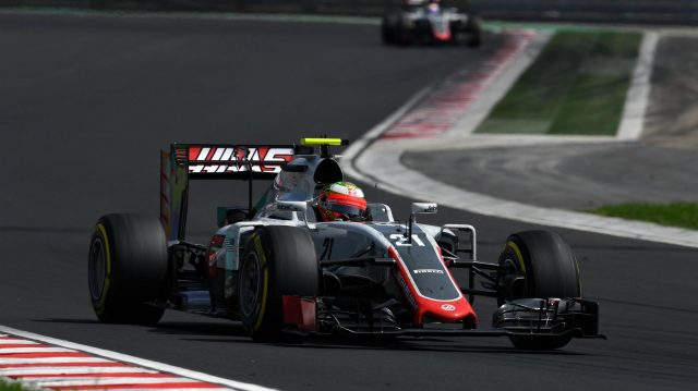 Esteban Gutierrez (MEX) Haas VF-16 at Formula One World Championship, Rd11, Hungarian Grand Prix, Race, Hungaroring, Hungary, Sunday 24 July 2016. &copy&#x3b; Sutton Images