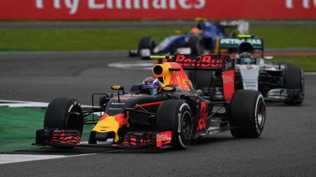 Max Verstappen (NED) Red Bull Racing RB12 at Formula One World Championship, Rd10, British Grand Prix, Race, Silverstone, England, Sunday 10 July 2016. &copy&#x3b; Sutton Images