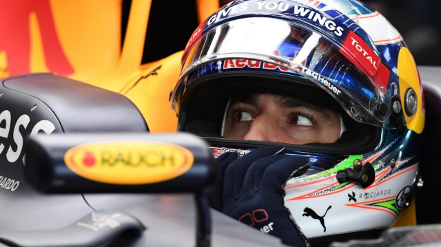 Daniel Ricciardo (AUS) Red Bull Racing RB12 at Formula One World Championship, Rd10, British Grand Prix, Qualifying, Silverstone, England, Saturday 9 July 2016. &copy&#x3b; Sutton Images