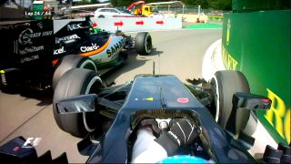 WATCH: The best onboard action from Belgium