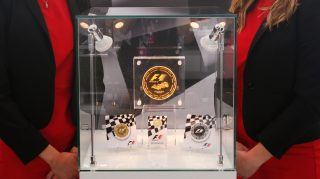 In the money - putting F1 production values into a coin