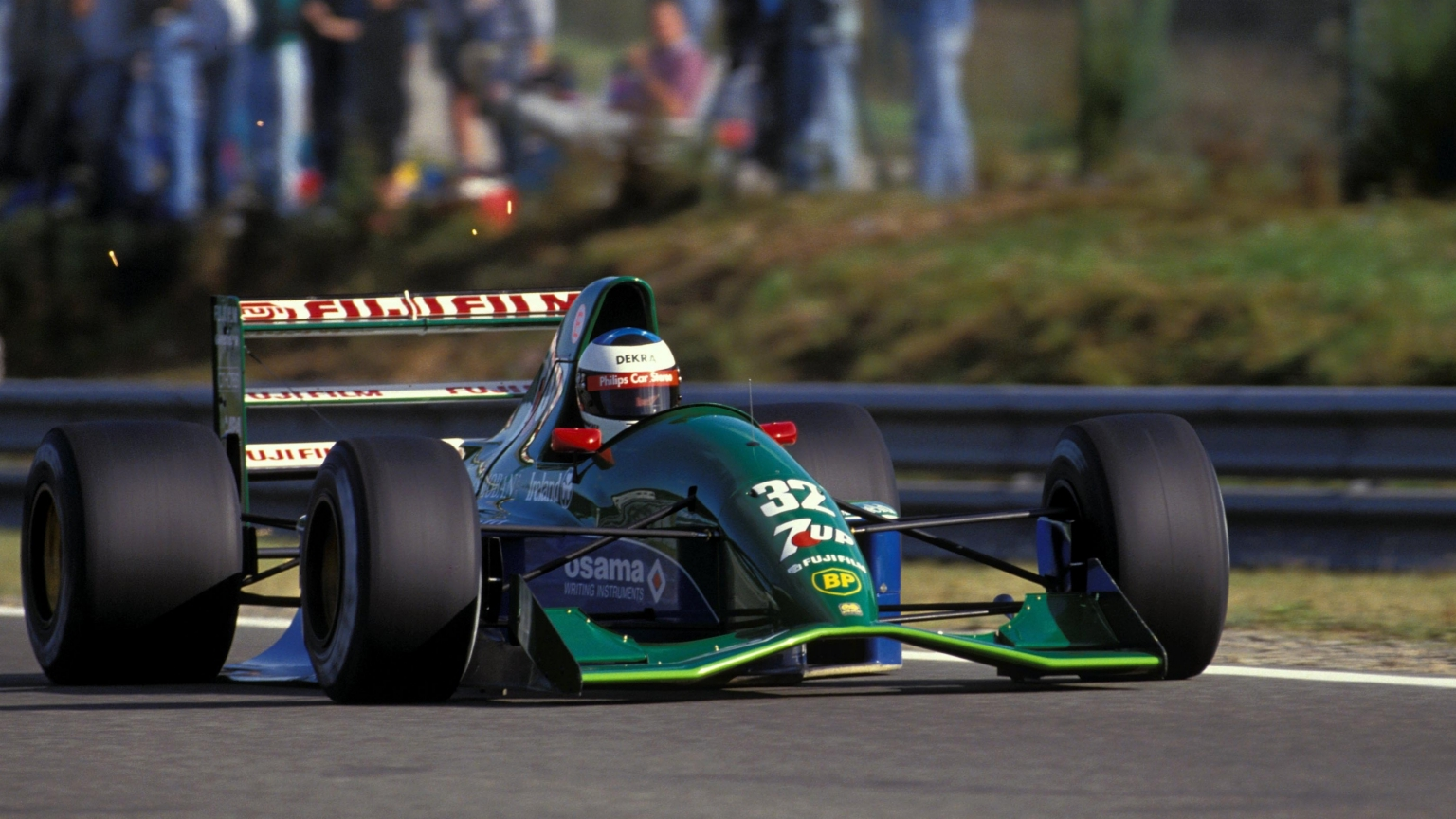 White Lies And Bicycle Rides The Facts Behind Schumacher S Remarkable F1 Debut