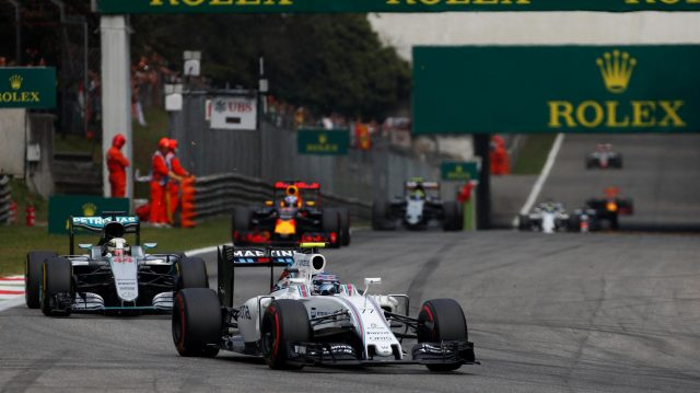 Valtteri Bottas (FIN) Williams FW38 at Formula One World Championship, Rd14, Italian Grand Prix, Race, Monza, Italy, Sunday 4 September 2016. &copy&#x3b; Sutton Images