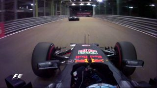 WATCH: Ricciardo's final lap and the best onboard action from Singapore