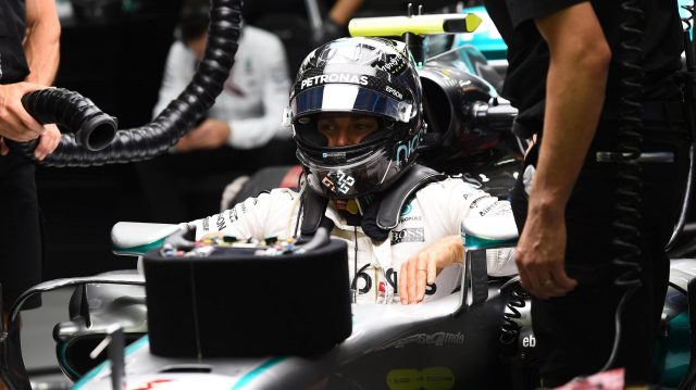 Nico Rosberg (GER) Mercedes AMG F1 at Formula One World Championship, Rd15, Singapore Grand Prix, Practice, Marina Bay Street Circuit, Singapore, Friday 16 September 2016. &copy&#x3b; Sutton Images