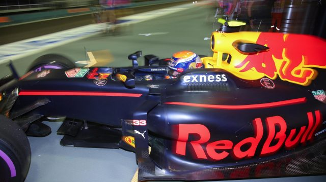 Max Verstappen (NED) Red Bull Racing RB12 at Formula One World Championship, Rd15, Singapore Grand Prix, Practice, Marina Bay Street Circuit, Singapore, Friday 16 September 2016. &copy&#x3b; Sutton Images