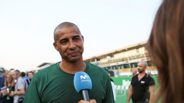 David Trezeguet (FRA) at Heineken Champions Of The Grid 5-A-Side Charity Football Match at Formula One World Championship, Rd14, Italian Grand Prix, Preparations, Monza, Italy, Thursday 1 September 2016. &copy&#x3b; Sutton Images