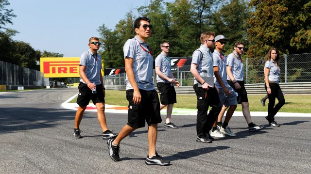 Pascal Wehrlein (GER) Manor Racing walks the track at Formula One World Championship, Rd14, Italian Grand Prix, Preparations, Monza, Italy, Thursday 1 September 2016. &copy&#x3b; Sutton Images