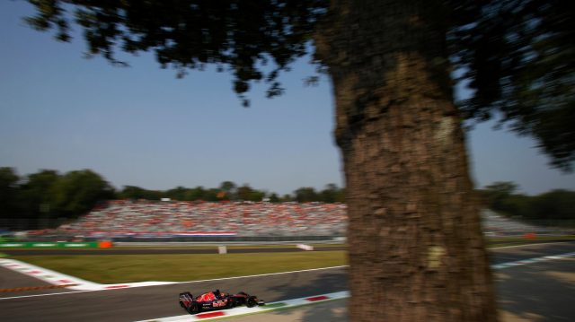 Daniil Kvyat (RUS) Scuderia Toro Rosso STR11 at Formula One World Championship, Rd14, Italian Grand Prix, Practice, Monza, Italy, Friday 2 September 2016. &copy&#x3b; Sutton Images