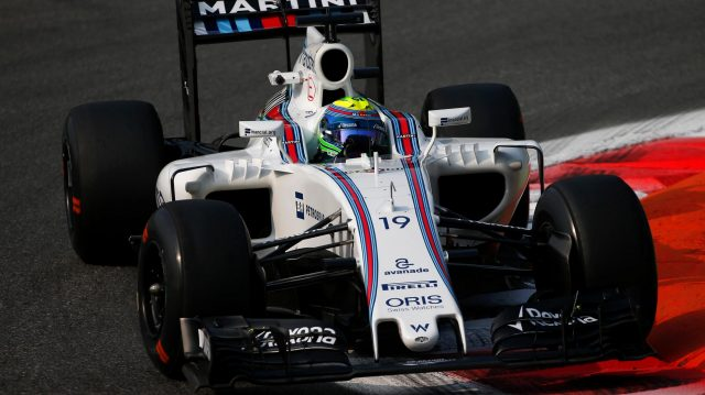 Felipe Massa (BRA) Williams FW38 at Formula One World Championship, Rd14, Italian Grand Prix, Practice, Monza, Italy, Friday 2 September 2016. &copy&#x3b; Sutton Images