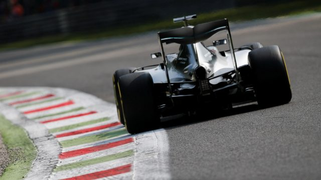 Nico Rosberg (GER) Mercedes-Benz F1 W07 Hybrid at Formula One World Championship, Rd14, Italian Grand Prix, Practice, Monza, Italy, Friday 2 September 2016. &copy&#x3b; Sutton Images