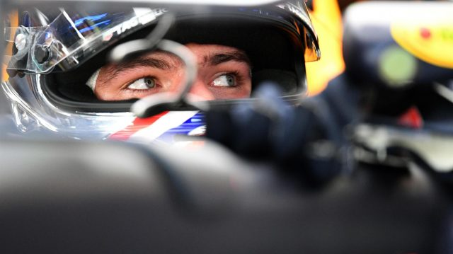 Max Verstappen (NED) Red Bull Racing RB12 at Formula One World Championship, Rd14, Italian Grand Prix, Practice, Monza, Italy, Friday 2 September 2016. &copy&#x3b; Sutton Images