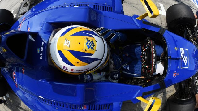 Marcus Ericsson (SWE) Sauber C35 at Formula One World Championship, Rd14, Italian Grand Prix, Practice, Monza, Italy, Friday 2 September 2016. &copy&#x3b; Sutton Images
