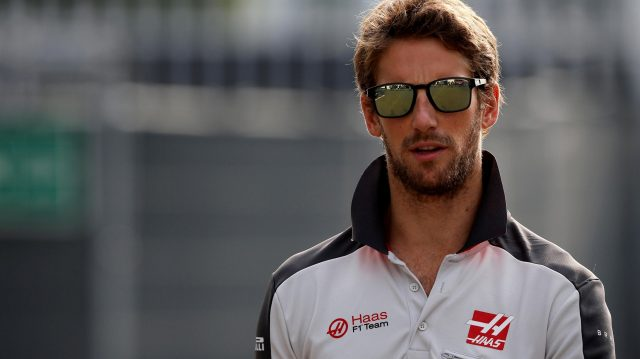 Romain Grosjean (FRA) Haas F1 at Formula One World Championship, Rd14, Italian Grand Prix, Qualifying, Monza, Italy, Saturday 3 September 2016. &copy&#x3b; Sutton Images