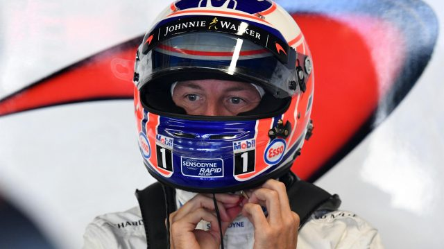 Jenson Button (GBR) McLaren at Formula One World Championship, Rd14, Italian Grand Prix, Qualifying, Monza, Italy, Saturday 3 September 2016. &copy&#x3b; Sutton Images