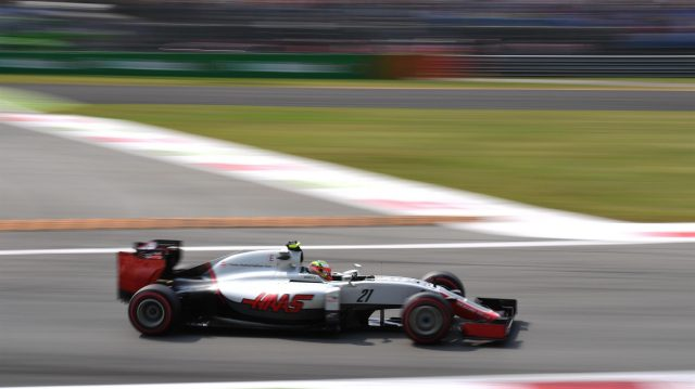 Esteban Gutierrez (MEX) Haas VF-16 at Formula One World Championship, Rd14, Italian Grand Prix, Qualifying, Monza, Italy, Saturday 3 September 2016. &copy&#x3b; Sutton Images