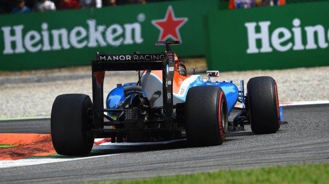 Pascal Wehrlein (GER) Manor Racing MRT05 at Formula One World Championship, Rd14, Italian Grand Prix, Qualifying, Monza, Italy, Saturday 3 September 2016. &copy&#x3b; Sutton Images