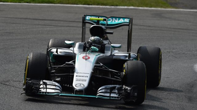 Nico Rosberg (GER) Mercedes-Benz F1 W07 Hybrid at Formula One World Championship, Rd14, Italian Grand Prix, Qualifying, Monza, Italy, Saturday 3 September 2016. &copy&#x3b; Sutton Images