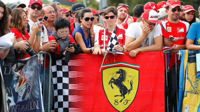 Fans at Formula One World Championship, Rd14, Italian Grand Prix, Race, Monza, Italy, Sunday 4 September 2016. &copy&#x3b; Sutton Images