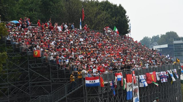 Fans and atmosphere at Formula One World Championship, Rd14, Italian Grand Prix, Race, Monza, Italy, Sunday 4 September 2016. &copy&#x3b; Sutton Images