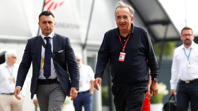 Sergio Marchionne (ITA) CEO FIAT at Formula One World Championship, Rd14, Italian Grand Prix, Race, Monza, Italy, Sunday 4 September 2016. &copy&#x3b; Sutton Images
