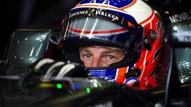 Jenson Button (GBR) McLaren MP4-31 at Formula One World Championship, Rd14, Italian Grand Prix, Race, Monza, Italy, Sunday 4 September 2016. &copy&#x3b; Sutton Images