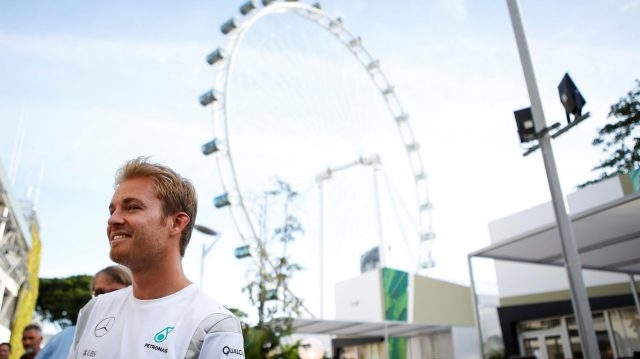 Nico Rosberg (GER) Mercedes AMG F1 at Formula One World Championship, Rd15, Singapore Grand Prix, Preparations, Marina Bay Street Circuit, Singapore, Thursday 15 September 2016. &copy&#x3b; Sutton Images
